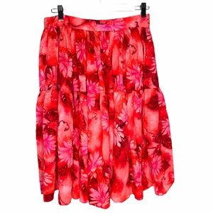 Handmade Tiered Skirt Bright and gorgeous